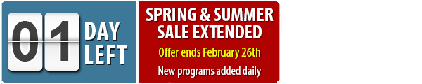 Winter Programs | Spring and Summer Sale