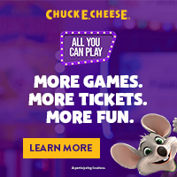 Chuck E. Cheese - All You Can Play