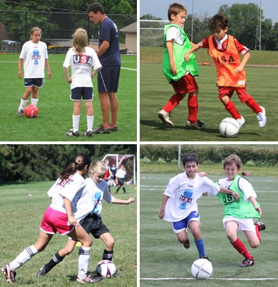 Team Soccer Camps